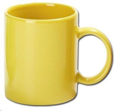 Šalica, keramička, žuta 310ml