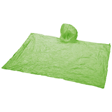 Kabanica, pončo, zelena
