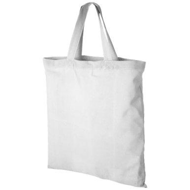 Vrećica, platnena, 38x42 cm, kratke ručke, bijela