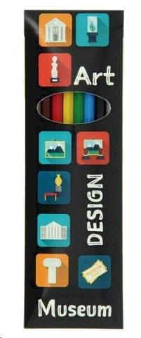 Set 6 bojica, kartonska kutijica dizajnirana po želji kupca