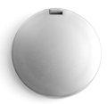 Ogledalo, dvostruko, džepno, srebrno