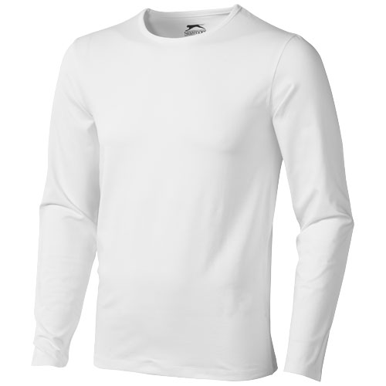 Majica, DR, muška, Slazenger,Curve, 95% pamuk, 5% elastin, bijela, L