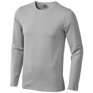 Majica, DR, muška, Slazenger,Curve, 95% pamuk, 5% elastin, siva, XL