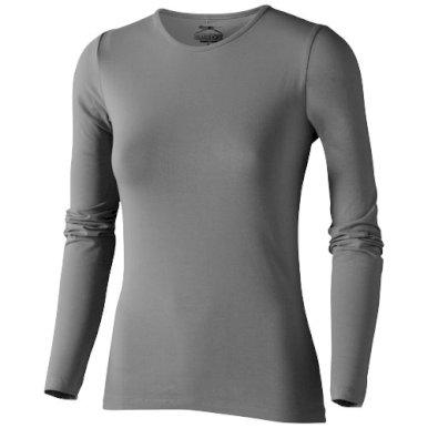Majica, DR, ženska, Slazenger,Curve, 95% pamuk, 5% elastin, siva, L
