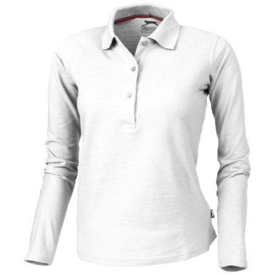 Majica, DR, Point Slazenger, polo,180 gr, ženska, bijela, L
