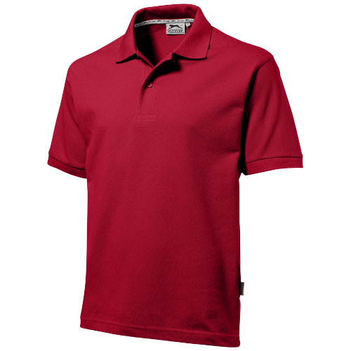 Majica, Polo, KR, muška, Slazenger, dark red, 220 gr, XL