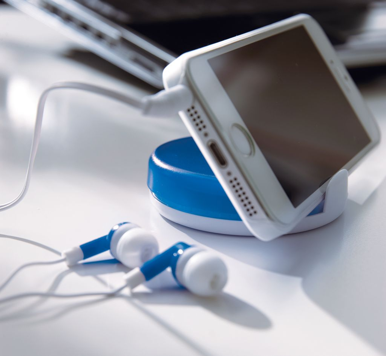 Slušalice, u kutiji, plave