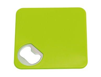 Otvarač boca - podmetač, zeleni