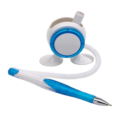 """Stalak s olovkom, """"Leggy"""", bijelo-plavi"""