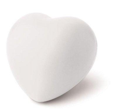 Antistres, srce, bijelo
