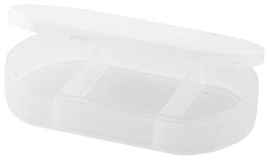 Kutijica za tablete, plastična, transparentna