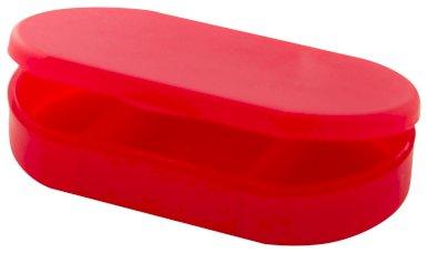 Kutijica za tablete, plastična, bijela
