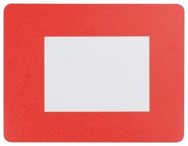 Okvir za sliku  podloga za miša, format 10 x 15 cm  crveni