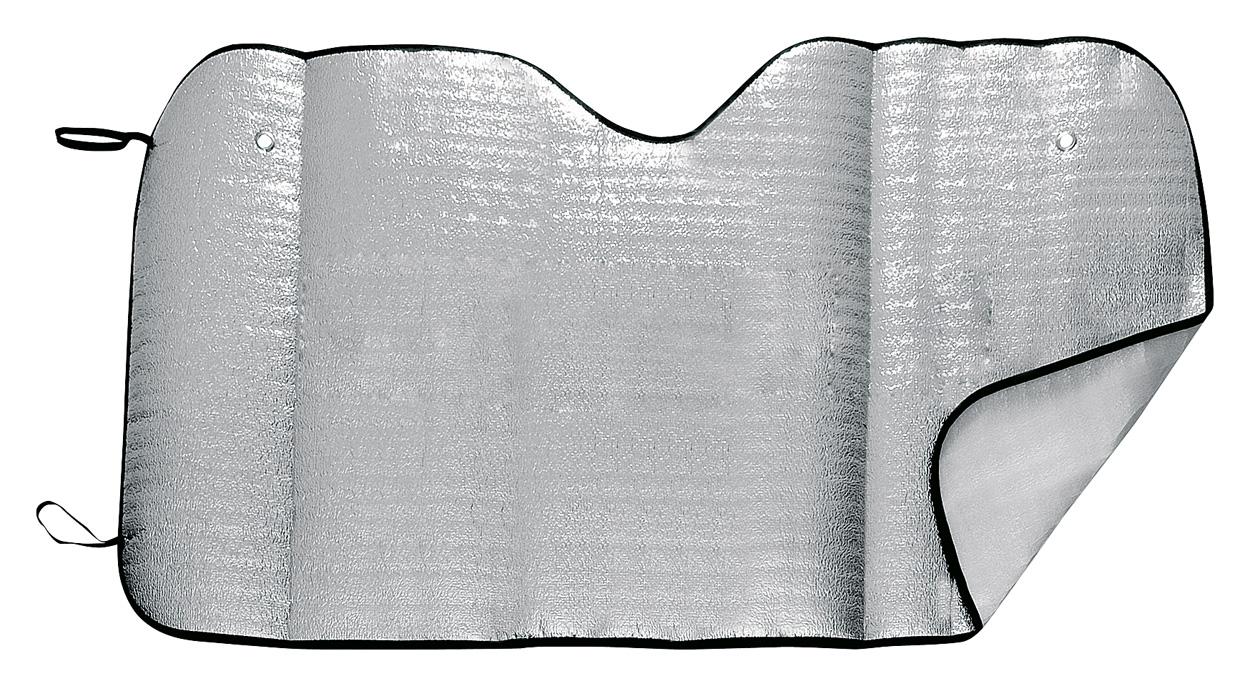 Sjenilo za auto, 130 x 70 cm, srebrno