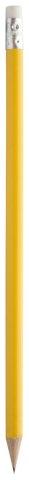 Olovka s gumicom, žuta