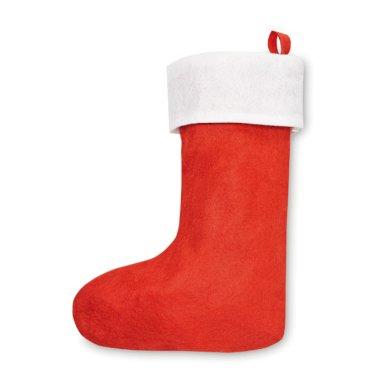 Božićna čizmica, crvena