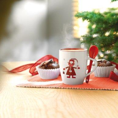 Šalica, s božićnim motivom
