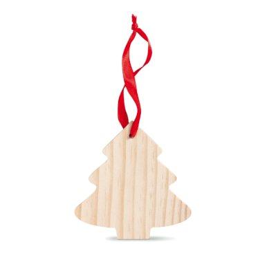 Božićni ukras, drvce, drveno