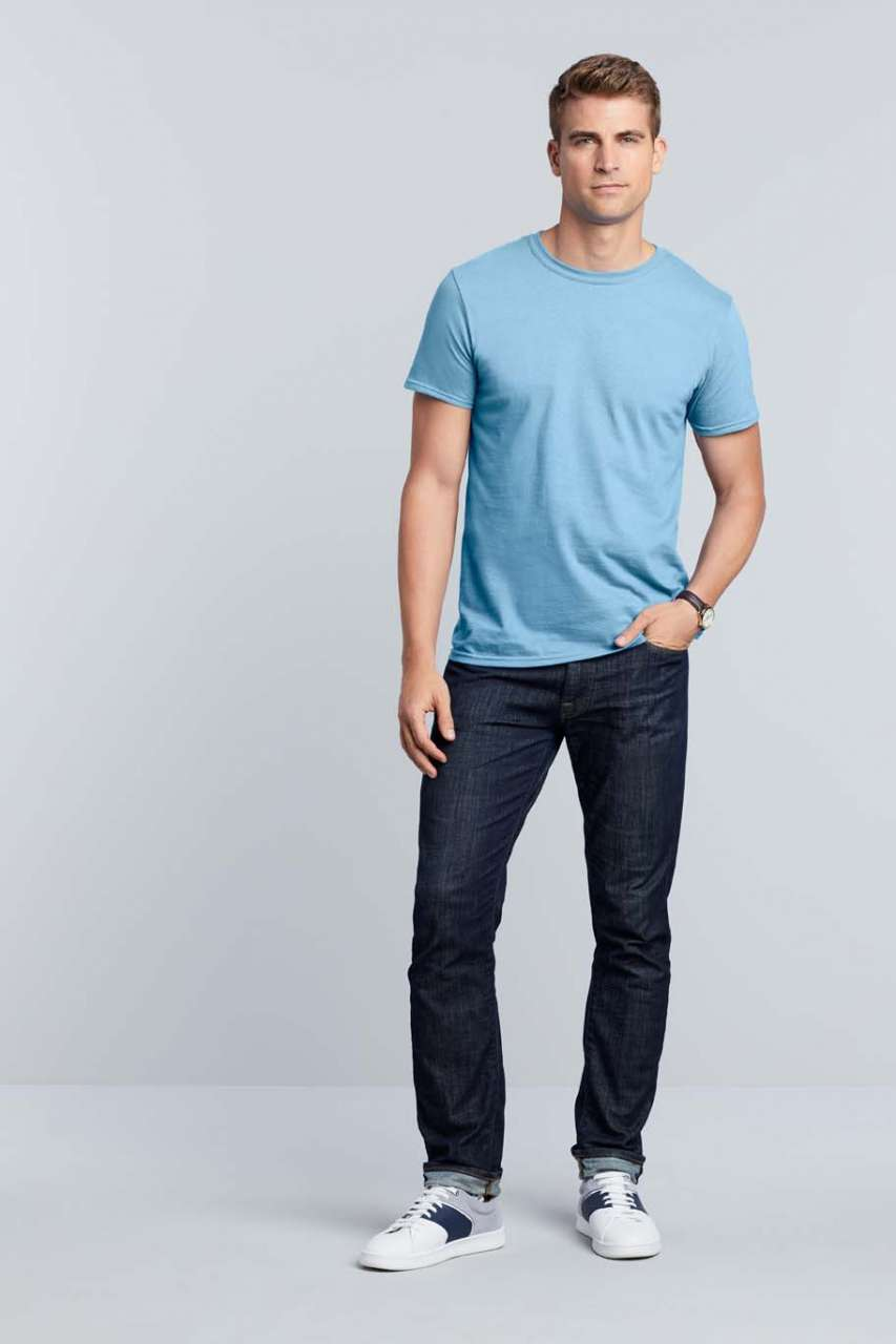 Majica, KR, Gildan, Soft style 155 gr