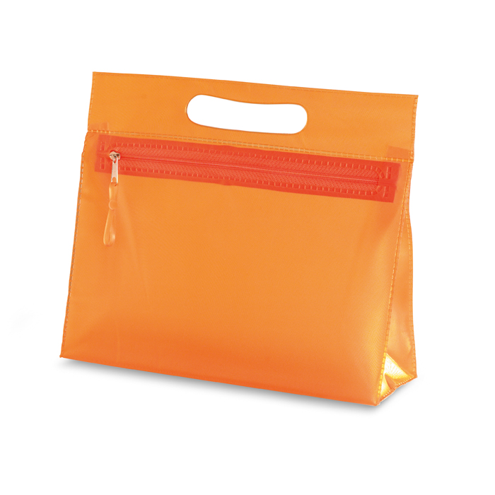 Kozmetička torbica, 24x20x7 cm, narančasta