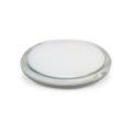 Ogledalo, dvostruko, džepno, bijelo