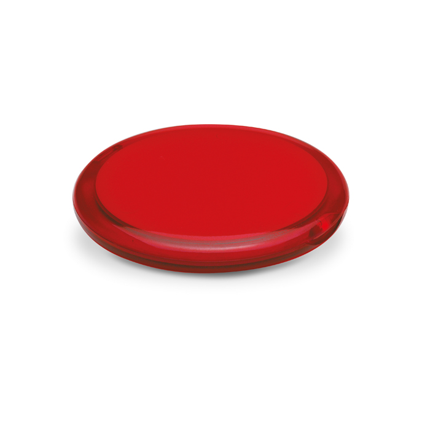 Ogledalo, dvostruko, džepno, crveno