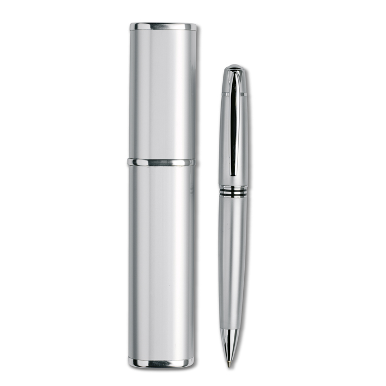 """Kem. olovka, """"Lili"""", metalna, u etuiju, crna"""
