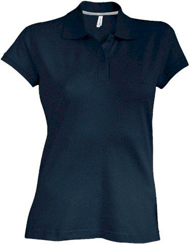 Majica, pique polo, ženska, 220 gr, crvena, M