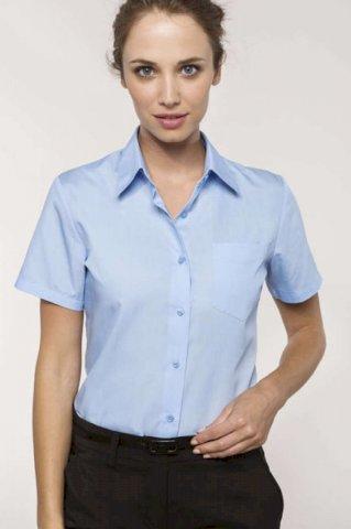 Košulja ženska KR, 65% poliester + 35% pamuk