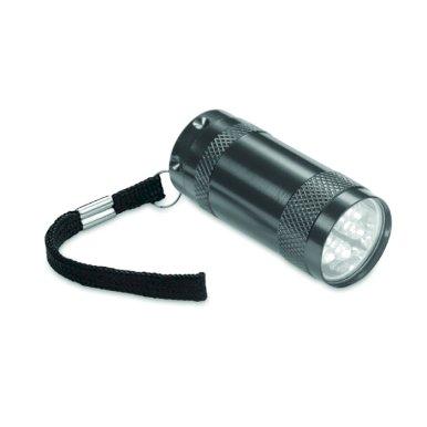 Svjetiljka, džepna, aluminijska, 6 LED dioda, antracit