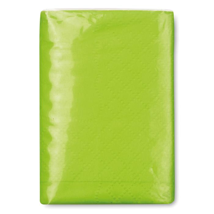 Papirnate maramice, 10 kom, zelene