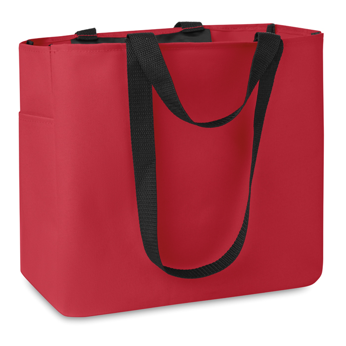 Torba, za kupovinu, 33X16,5X30 cm, crvena