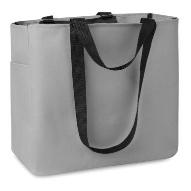 Torba, za kupovinu, 33X16,5X30 cm, siva