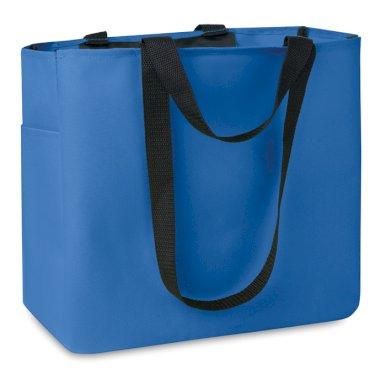 Torba, za kupovinu, 33X16,5X30 cm, royal plava