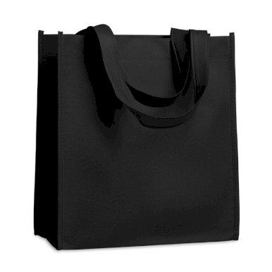 Vrećica, netkani materijal, 27x15x30 cm, crna