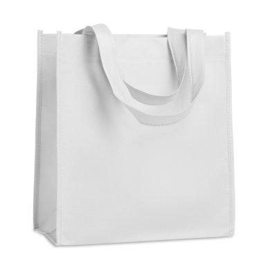 Vrećica, netkani materijal, 27x15x30 cm, bijela