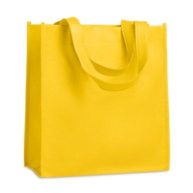 Vrećica, netkani materijal, 27x15x30 cm, žuta