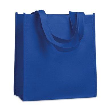Vrećica, netkani materijal, 27x15x30 cm, royal plava