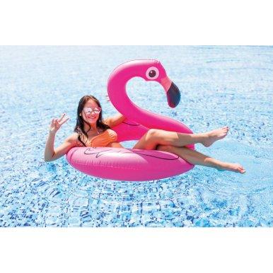 Flamingo na napuhavanje, rozi