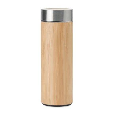 Termos boca, s cjedilom za čaj,400 ml, bamboo