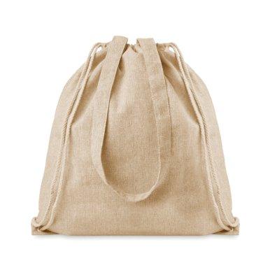 Ruksak- torba  sa špagicama od recikliranog poliestera 140 gr