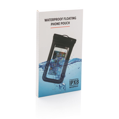 Etui za mobitel, vodonepropusni, crni