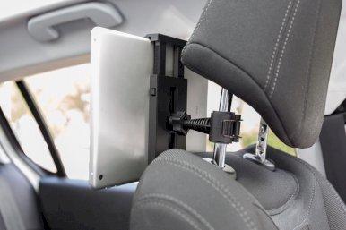 Držač za tablet, za stražnje sjedalo automobila, crni