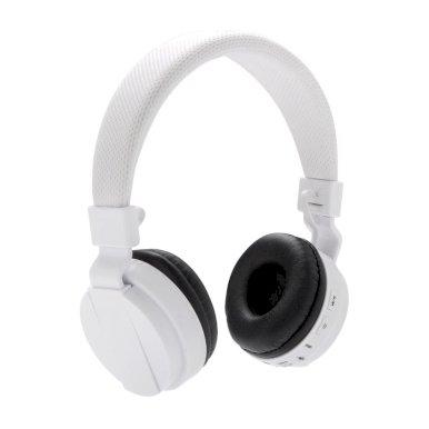 Slušalice na bluetooth, bijele