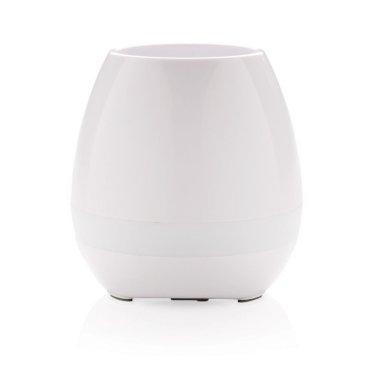 Teglica za cvijeće- zvučnik, wireless, bijela