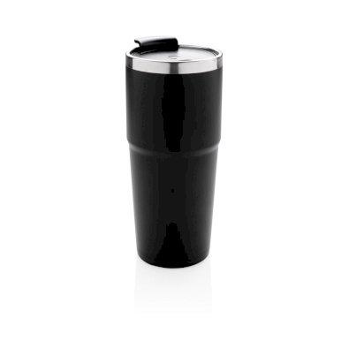 Termo šalica sa svijetlom, 480ml, crna