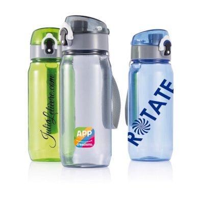 Boca, Tritan, zeleno-siva, 600 ml, BPA free