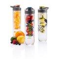Boca za vodu, sa umetkom za voće, plastična, zeleni čep 800ml