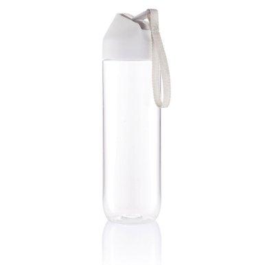 Boca za vodu, bijelo- siva 450ml