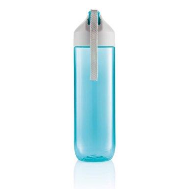 Boca za vodu, tirkizno- siva 450ml